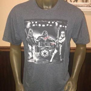 Star Wars Shirts - SWEET Star Wars Rock Band Darth Vader Trooper